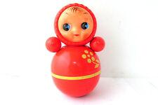 Vintage USSR Celluloid Toy Dolls NEVALYASHKA