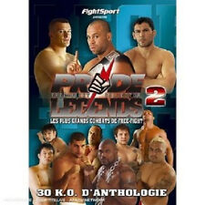 9412 // PRIDE LEGENDS 2 FREE FIGHT COLLECTOR DVD NEUF