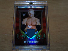 2011 TOPPS WWE CLASSIC TRADING CARD CHRISTIAN AUTHENTIC RELIC CARD