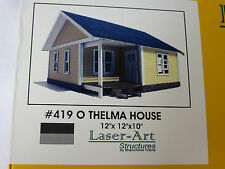 Branchline O laser Art Structures #419 Thelma Catalog House kit form