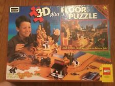 Lego 3D Wild West Floor Puzzle Fort (Pari w/ LEGO 6566-Listed) Use with Western