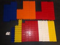 Mega Bloks Building Block Lot Of 193 Pieces Various Colors-LEGO Duplo Compatible