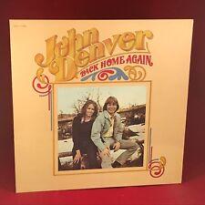 JOHN DENVER Back Home Again 1974 UK Vinyl LP EXCELLENT CONDITION