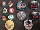 12  Button div. Marvel, Disney Dracula ca. 1992-1993
