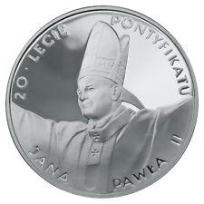 Poland / Polen - 10zl 20th anniversary of John Paul's II pontificate
