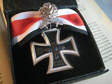 Croce cavaliere EK con Foglie di quercia und Spade 800 und L 21 Ordine Wehrmacht