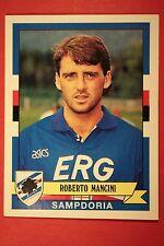 Panini calciatori 1992/93 1992 1993 306 SAMPDORIA MANCINI OTTIMO/EDICOLA!