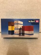 /H0/20/Foot Container Set of 8/Pack. Kibri 10924/