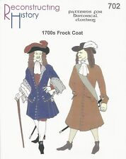 Schnittmuster RH 702: 1700s Frock Coat