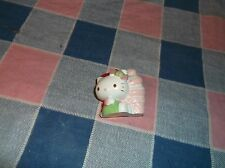 """ksm. Cute Hello Kitty by Ice Cream Cone Christmas Ornament Cone is 1 3/16"""" high"""