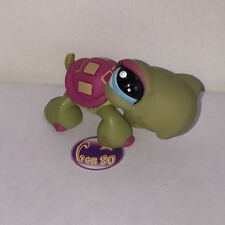 Littlest PetShop TORTUE CARAPACE ROSE 1370 TURTLE Pet Shop M07