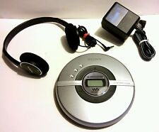 SONY WALKMAN D-EJ109 G-PROTECTION MEGA BASS CD R/RW PLAYER + HEADPHONES ADAPTER