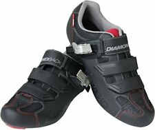Diamondback 87-32-448 Men's Century Clipless Road Cycling Shoe, 12 - Black