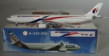 AERO CLASSICS AC9MMTK Airbus A330-323 Malaysia Airlines 9M-MTK in 1:400 Scale