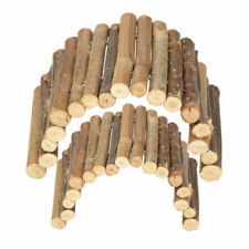 NEW Wooden Pet Reptile Rodents Bridge Stair Climbing Hamster Pets Toys S/M