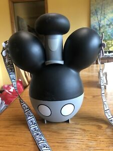 Disney World Mickey Steamboat Willie Popcorn Bucket with Strap
