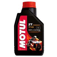ACEITE Motor Motul 710 2T 100% sintético - 2 litros lt MEZCLA