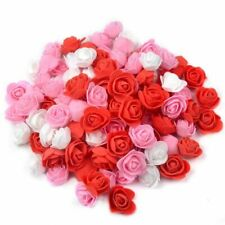 Wedding Fake Flowers Handmade Artificial Foam Rose Heads Flower Diy 500Pcs 3.5cm