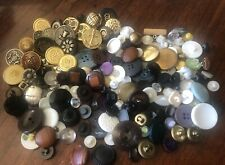 New listing Vintage Mixed Button sewing Lot ~ Crafts ~ Projects ~ Nice!
