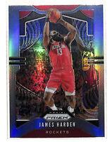 2019-20 Panini Prizm #107 James Harden SILVER refractor card Rockets