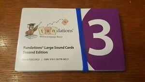 Wilson Fundations Large Sound Cards Level 3