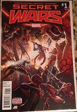 Secret Wars #1 Signed by artist Alex Ross w/ COA