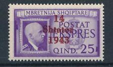 [37853] Albania 1943 Express Good stamp Very Fine MNH