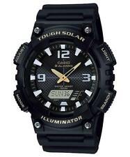 Casio Tough Solar Illuminator Black Watch AQS810W-1B Resin Alarm|Solar|World