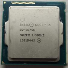 Intel Core i5-5675C QS 3.1GHz LGA 1150 SR2FX 4M Cache 4-Core GPU P4600 65W CPU