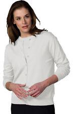 Edwards Garment Women's Jewel Neckline Short Sleeve Winter Cardigan. 038