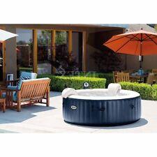 Intex Portable 6-Person Inflatable PureSpa Plus Bubble Spa Heat Bath Jaccuzi