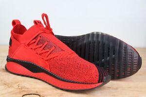 Puma X Fubu Tsugi Jun High Risk Collab Soft Knit BHM Red Black New Mens Size 12