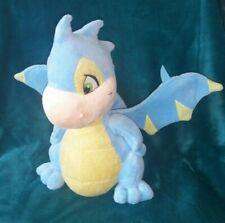 "Neopets Blue Scorchio Dragon Plush Stuffed Animal Toy 12"""