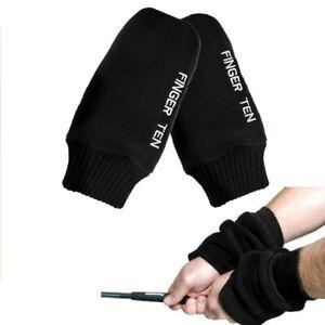 New Mittens Gloves Pair Men Winter Warm Heated Thermal Repellent Mitt Windproof