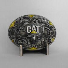 Cat Diesel Power Metal Gürtel Schnalle