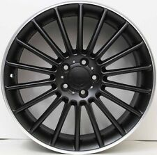 19 inch Aftermarket Alloy Wheels M03 suit Mercedes Benz AMG A,B,C,E CLASS BLACK