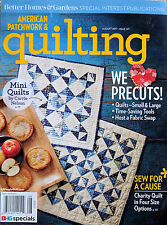 American Patchwork U0026 Quilting April 2016 Issue 145 Magazine