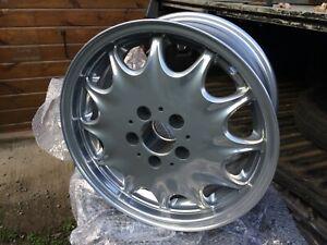 Mercedes 450SEL 190E 300SL 500L WHEEL RESTORATION SERVICE -Tudor Wheels Ltd