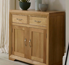 Solid Oak Sideboard Table .,