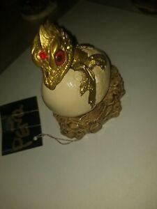 Windstone Editions Gold Hatching dragon V2 NO Original Box