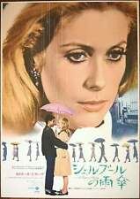 Les PARAPLUIES DE CHERBOURG UMBRELLAS OF Japanese B2 movie poster R72 DENEUVE