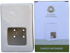 Oil Garden CANDLE VAPOURISER Aromatherapy Oil Burner Diffuser Room Freshenener