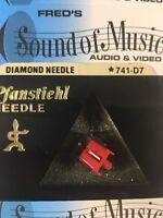 NEW In Package Pfanstiehl 741-D7 Diamond Needle Stylus 741d7 hh scott asc21