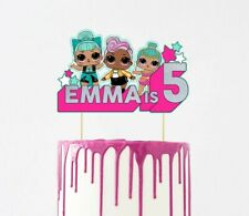 LOL cake topper - Personalised, party, Birthday