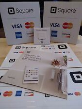 1x Square Credit/Debit Card Reader +2x Stickers+2x Table Tents+Get Started Guide