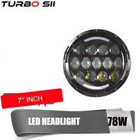 7 Inch LED Headlight Halo Angel Eyes For Jeep JK LJ CJ Hummer H1 Harley Davidson