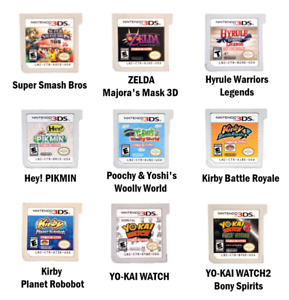 DEMO Nintendo® 3DS Games Not for Resale Cartridge Only *See Description*