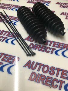 Power steering rack boot OEM quality Universal fittings *PAIR* Large