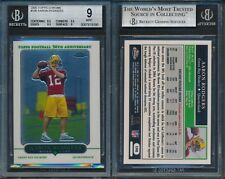 Aaron Rodgers PACKERS 2005 Topps Chrome #190 Rookie Card Rc  #190 Rc BGS 9 x198