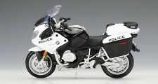 MAISTO 1:18 BMW R1200RT R 1200 RT Police MOTORCYCLE BIKE DIECAST MODEL